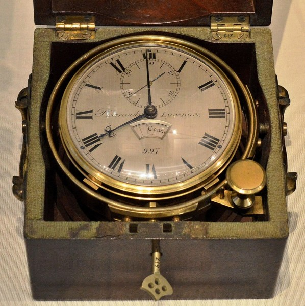 Barrauds Marine Chronometer c1822 at Science Museum