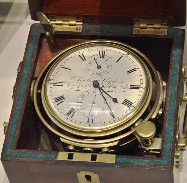 Charles Shepherd c1822 Marine Chronometer at Science Museum