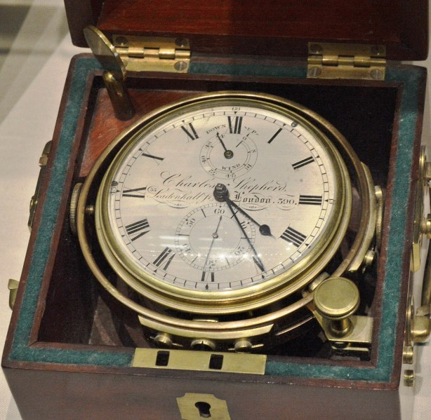Charles Shepherd c1822 Marine Chronometer at Science Museum