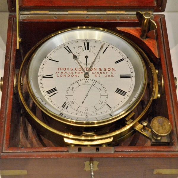 Cogden and Son Marine Chronometer at Science Museum