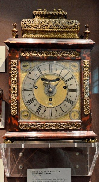 Fromanteel and Clark c1695 Clock at Science Museum