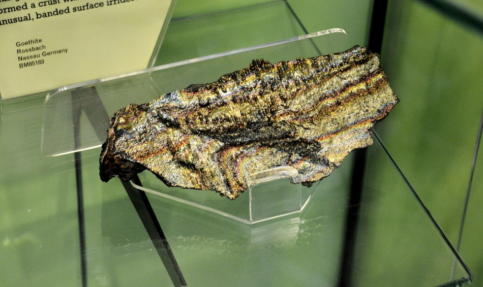 Goethite at the Natural History Museum