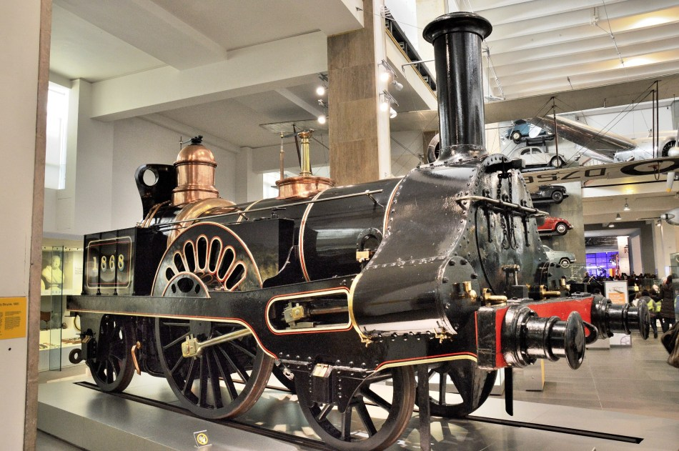 Grand Junction Railway Locomotive Columbine at London Science Museum