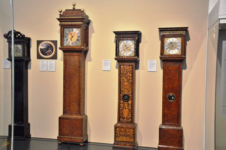 Grandfather Clocks at Science Museum