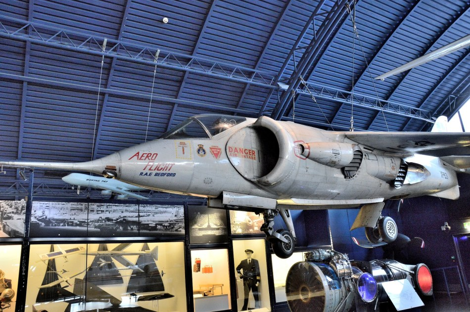 Harrier Jump Jet at London Science Museum