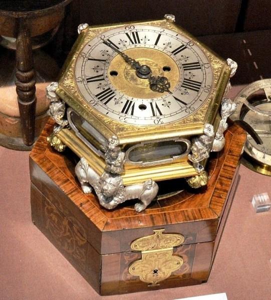 J. Schmidt Table Clock c1827 at Science Museum