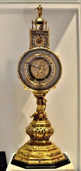 Johan Schneider c1625 Clock at Science Museum