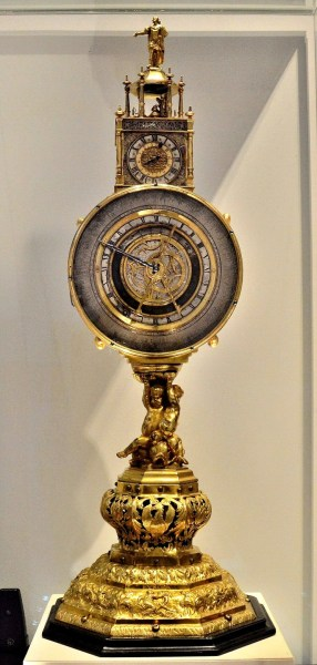 Johan Schneider c1625 Clock at Science Museum