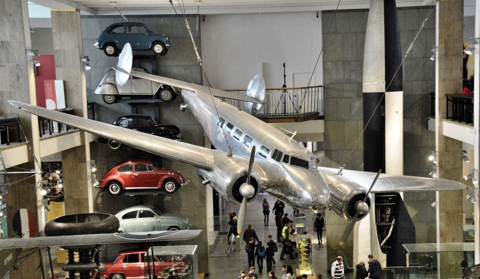 Lockheed Electra at London Science Museum