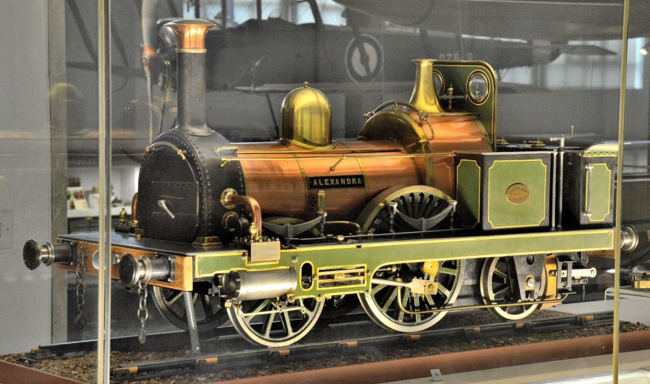Model of Alexandra Steam Train