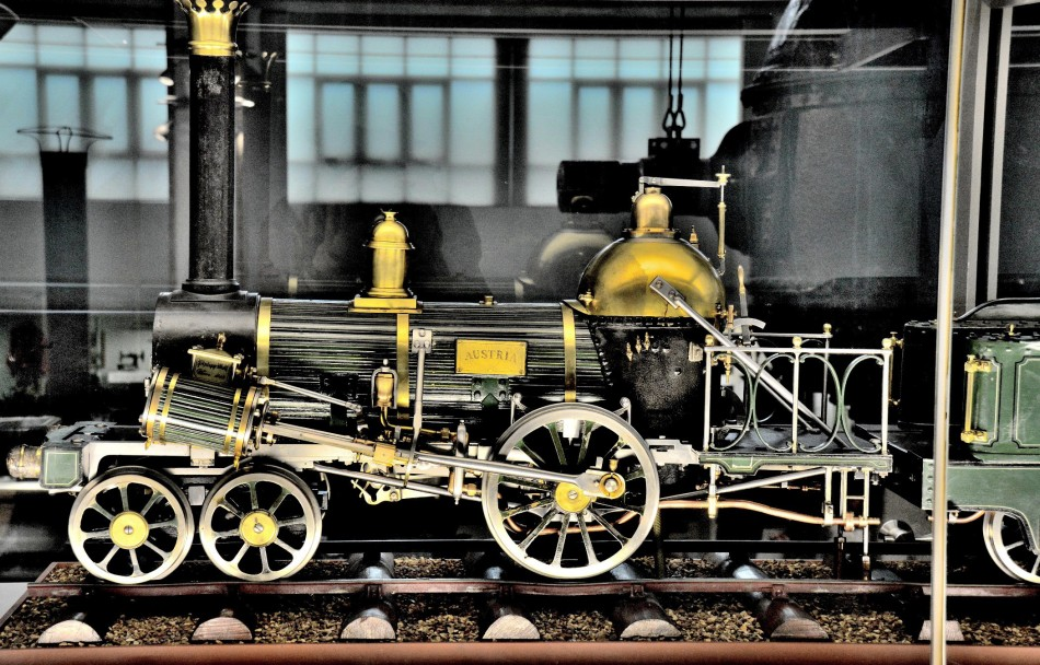 Model of Austria Locomotive