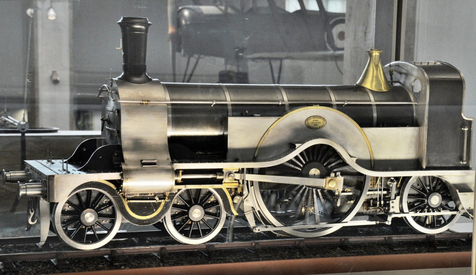 Model Steam Train