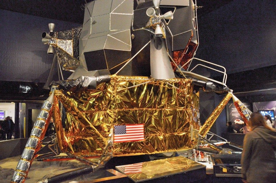 Moon Lander at London Science Museum
