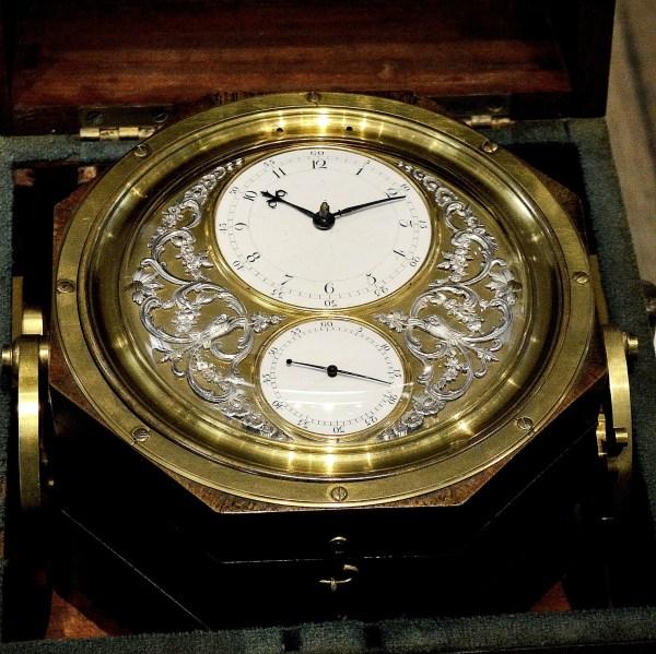Ornate Marine Chronometer at Science Museum