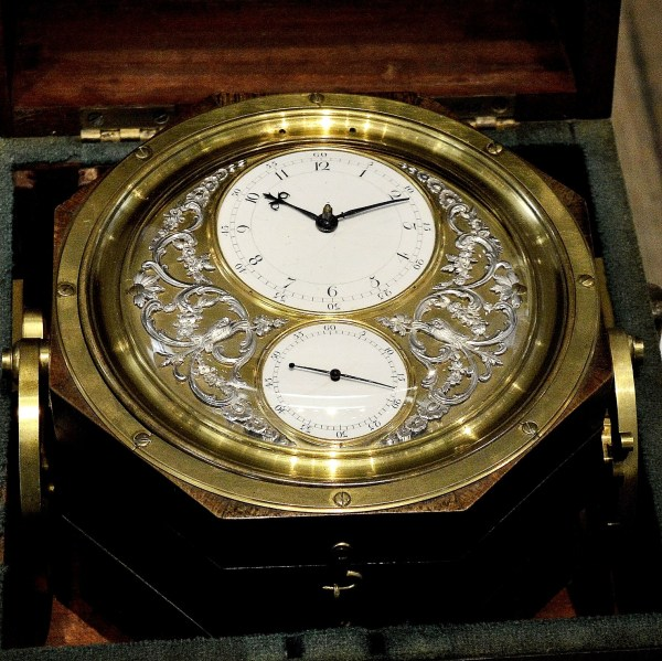 Ornate Marine Chronometer at Science Museum