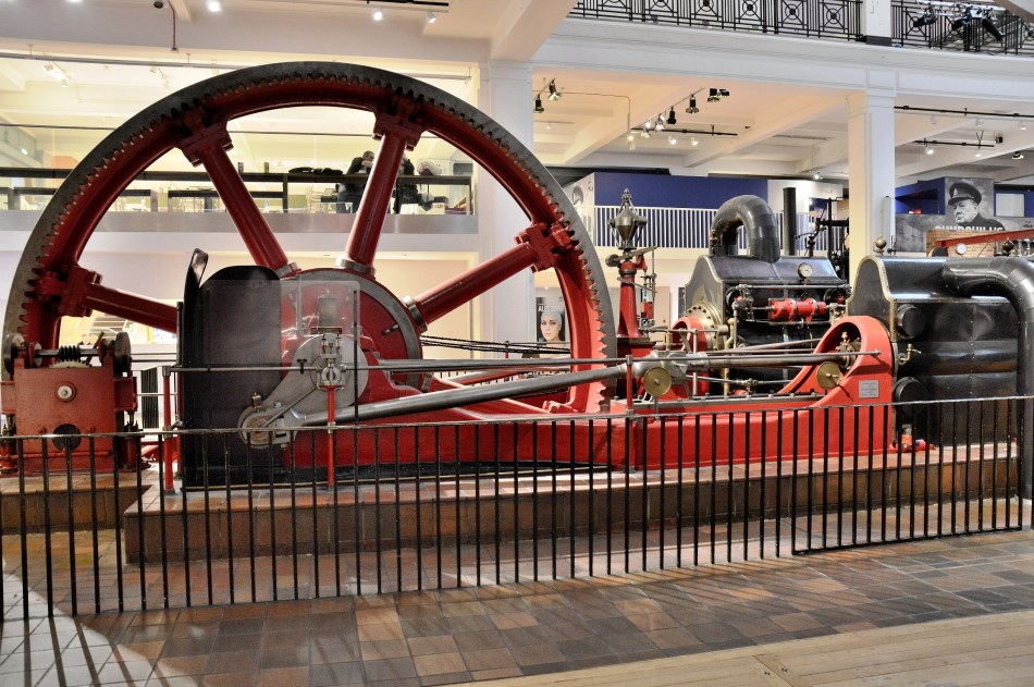 Pumping Engine at London Science Museum