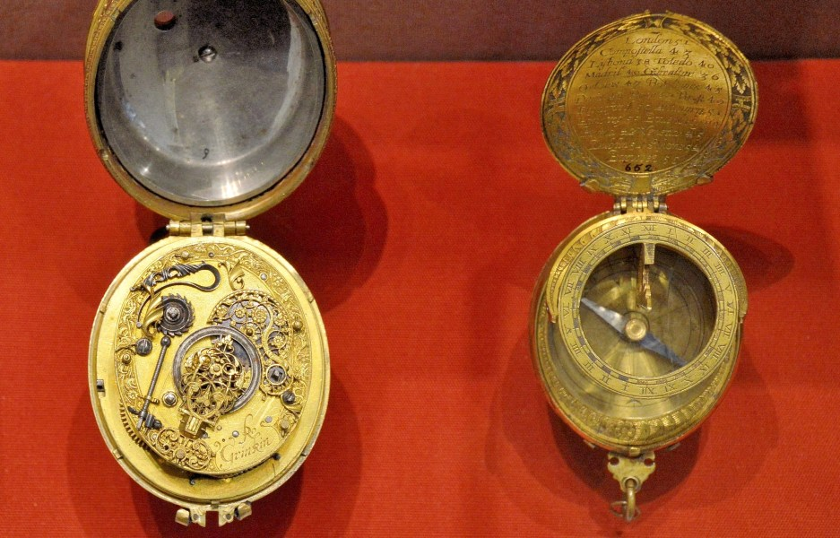 Robert Grinkin Watch Movement at Science Museum