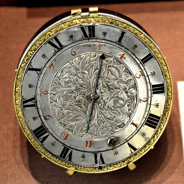 Silver Antique Watch 2 at Science Museum