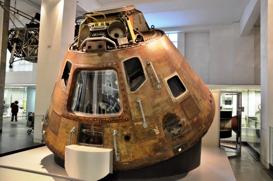 Space Capsule at London Science Museum