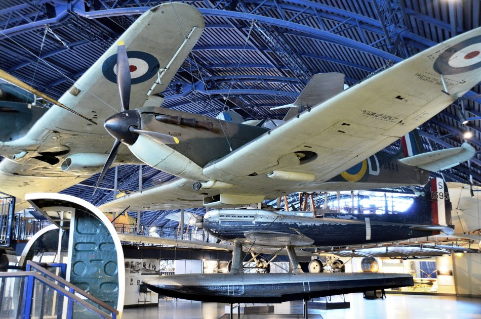 Spitfire at London Science Museum