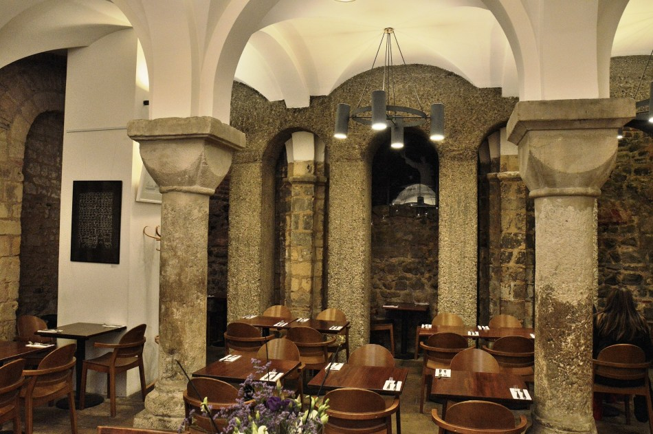 St mary Le Bow Crypt