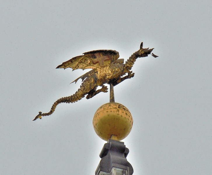 St mary Le Bow Dragon Wind Vane