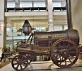 Stephenson's Rocket. at London Science Museum