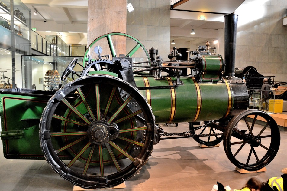 Traction Engine at London Science Museum