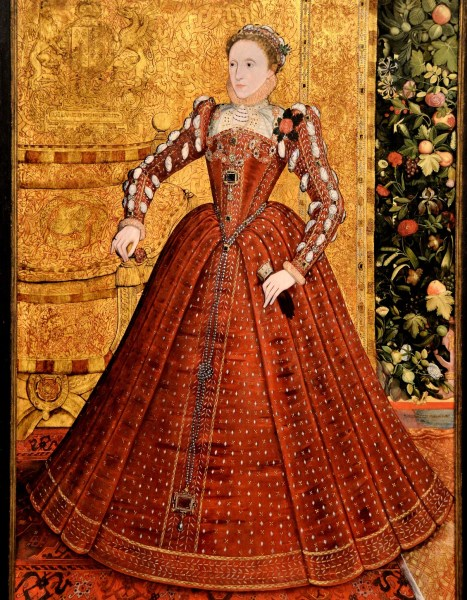 Elizabeth I by Steven van Herwijckat the Tate Britain