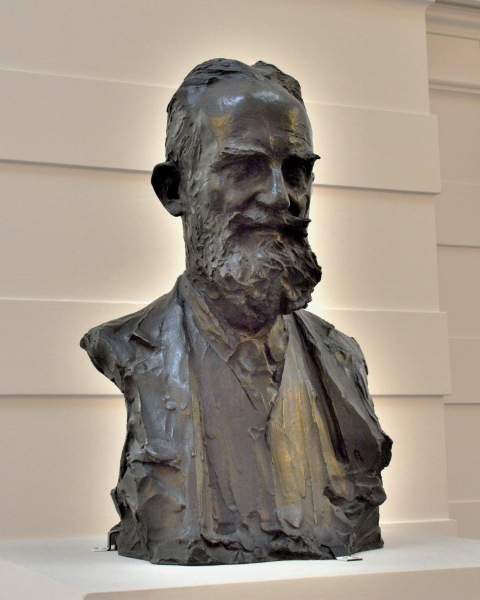 George Bernard Shaw Bust at the Tate Britain