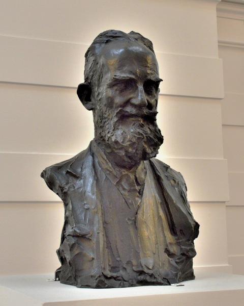 George Bernard Shaw Bust at the Tate Britain