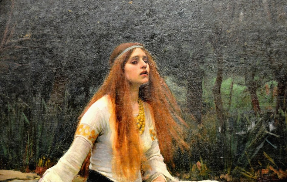 Lady of Shalott close up