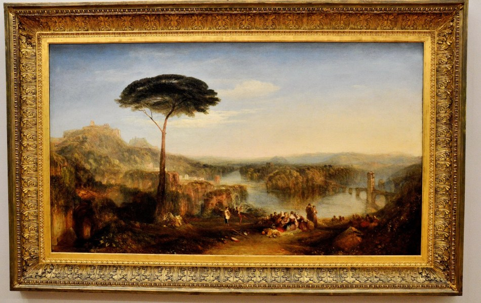Palestrina - Composition by Turner at the Tate Britain