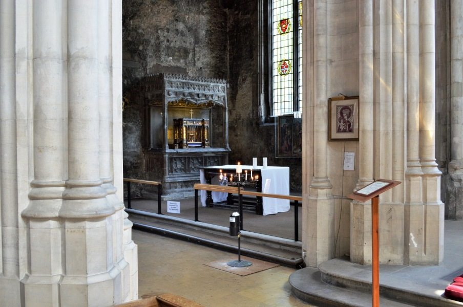Sanctuary at All Hallows by the Tower