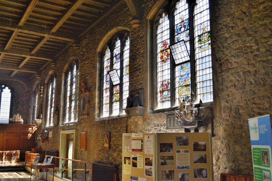 Stained Glass at All Hallows by the Tower