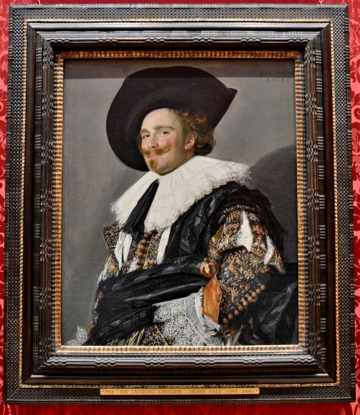 The Laughing Cavalier by Frans Hals at the Wallace Collection