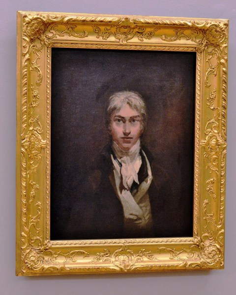 Turner Self Portrait at the Tate Britain