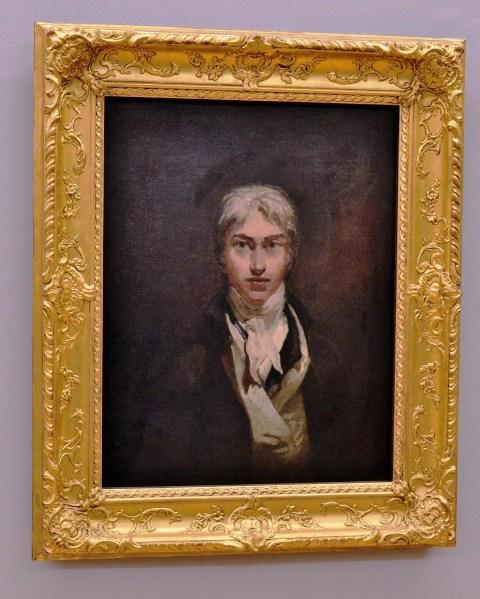 Turner Self Portrait at the Tate Britain