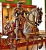 Wallace Collection Armoury Armoured Man on Horseback
