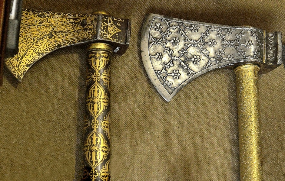 Wallace Collection Armoury Axes