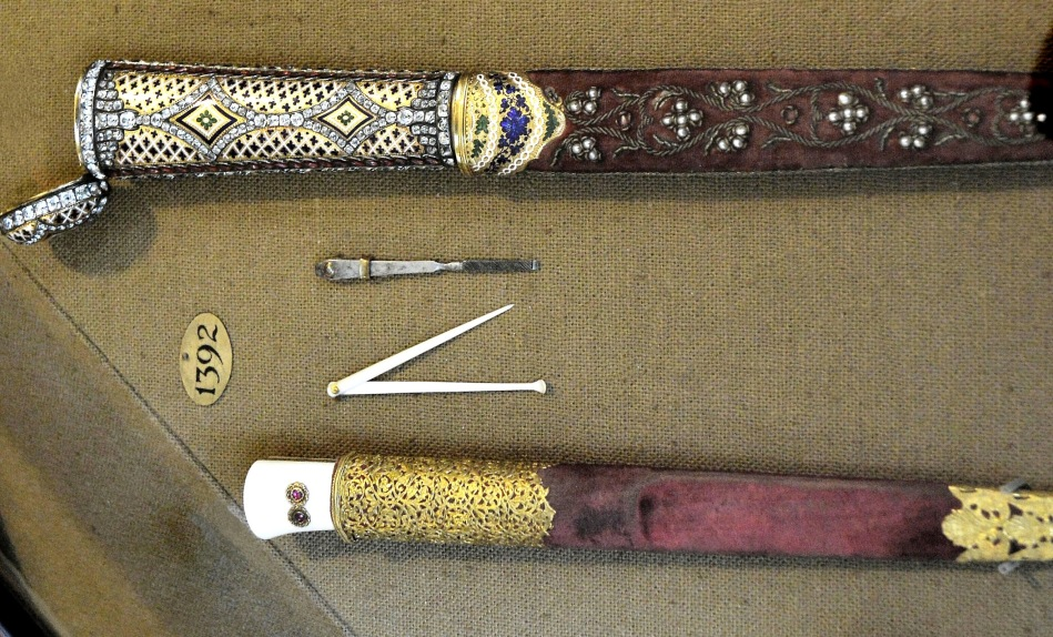 Wallace Collection Armoury Daggers 1