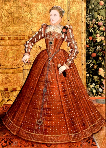 Elizabeth I by Steven van Herwijck at the Tate Britain