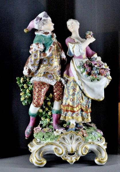Fenton House Meissen Figures 1