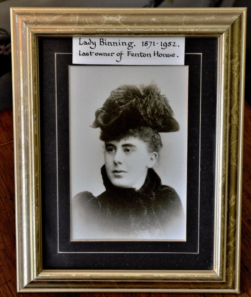 Lady Binning Photograph at Fenton House