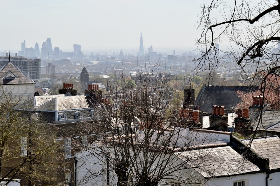 View Across London From Fenton House