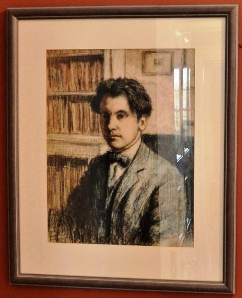 Hampstead Museum George Charlton Portrait