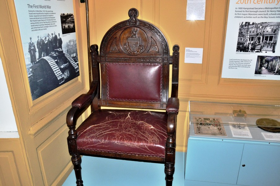 Hampstead Museum Mayor's Chair
