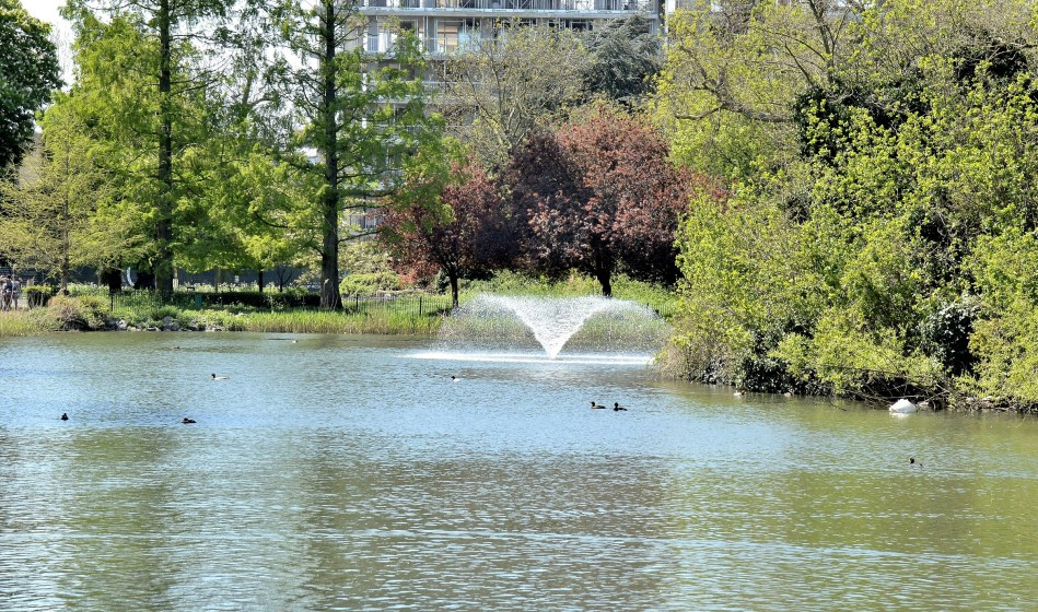 Clissold Park Lake