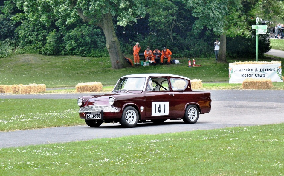 Crystal Palace Motorsport 2016 Race Cars Ford Anglia