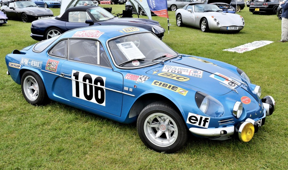 Crystal Palace Motorsport Classic Cars Renault Alpine